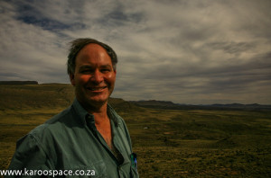 Prof Bruce Rubidge, fossil expert