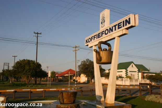 Koffiefontein coffee pot
