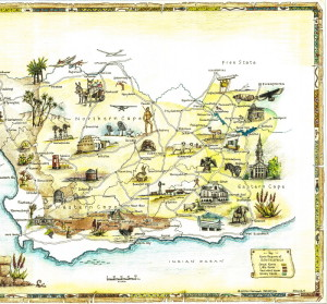 The Classic Karoo Map