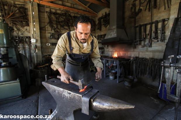 Karoo blacksmith