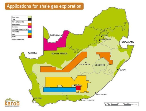 Fracking In The Karoo Update July 2013 Karoo Space