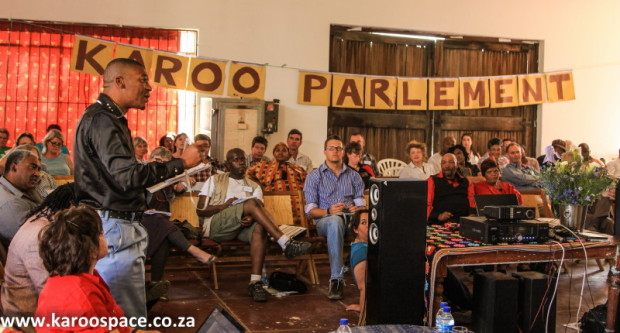 The Karoo Parliament brought together scientists, municipalities, farmers and tourism people.