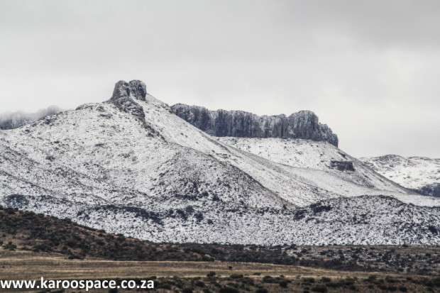 Dolerite, also known as ironstone in the Karoo