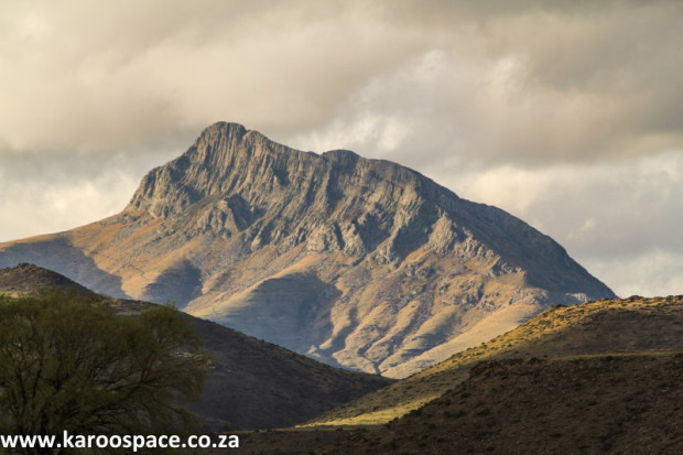 Dolerite Compassberg in the Karoo