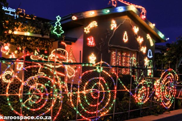 Christmas lights, Graaff-Reinet