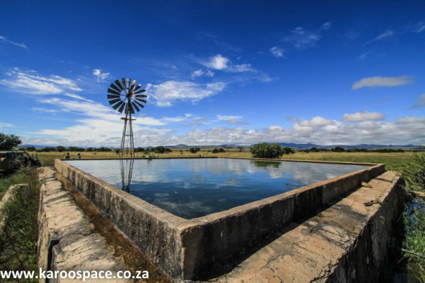 At risk from fracking: the Karoo's clean groundwater, which underpins thousands of businesses.