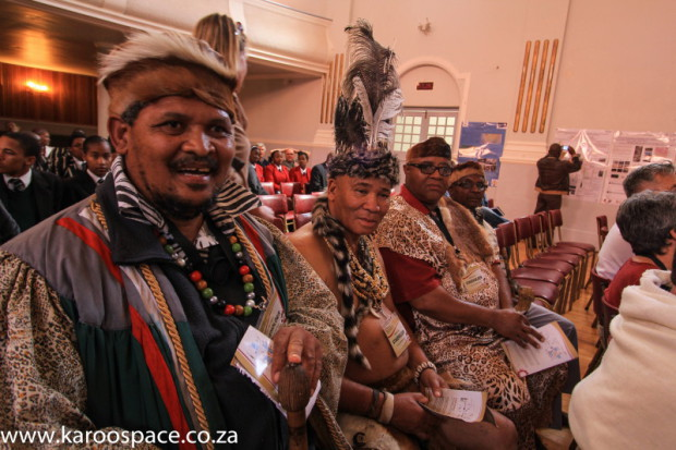 Traditional Khoi and San leaders oppose fracking.