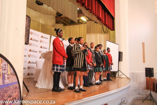 First, a time-consuming mock debate was held between Eastern Cape schoolchildren.