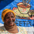Auntie Evelyne Olifant - one of the Karoo's best cooks.