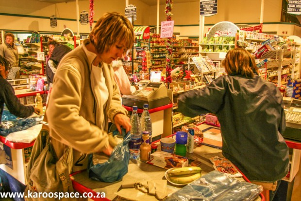 Karoo supermarket, Willowmore