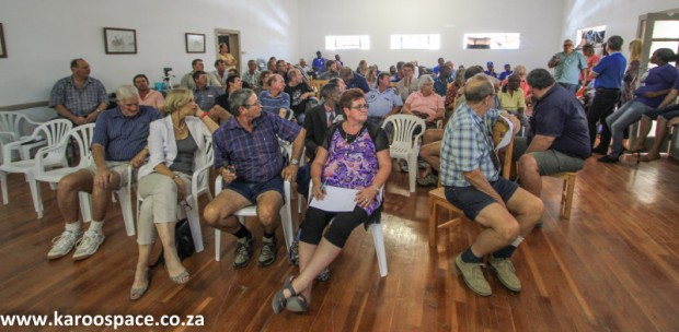 Falcon meeting, Jansenville Karoo