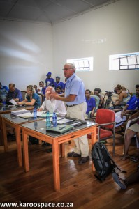 Dougie Stern, Karoo farmer, Falcon's Jansenville meeting