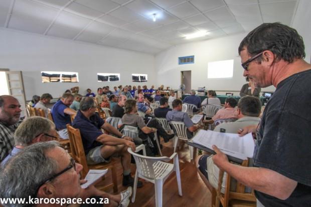Fransie Fourie, Jansenville Karoo farmer