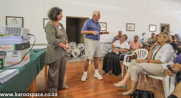 Falcon's Jansenville meeting, Karoo