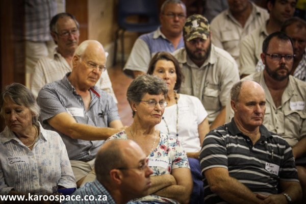 Bundu meeting, Pearston