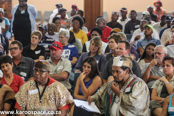 Karoo people, Pearston town hall