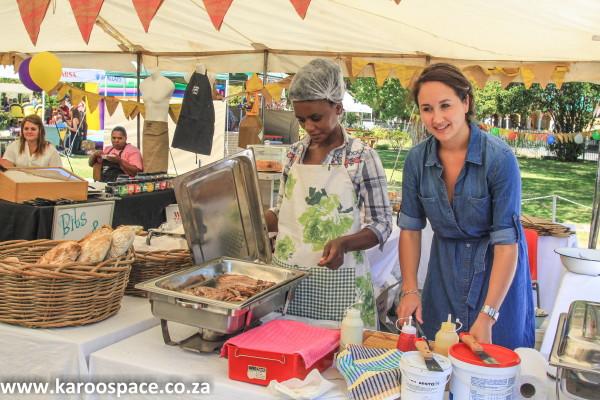 Louzel Lombard, Karoo Food Festival, Cradock