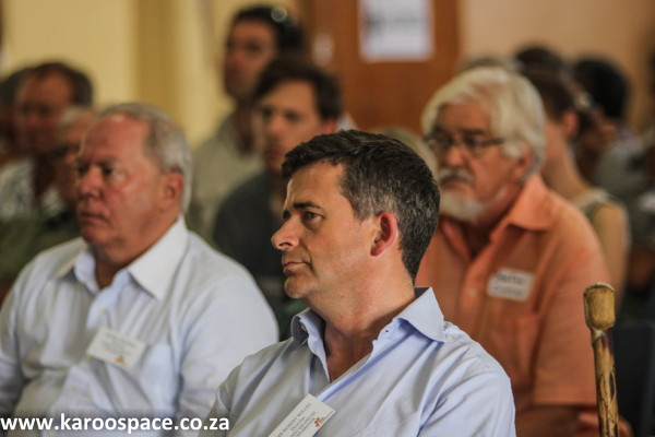 Bundu meeting in the Karoo