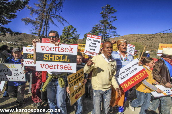 anti fracking in the karoo