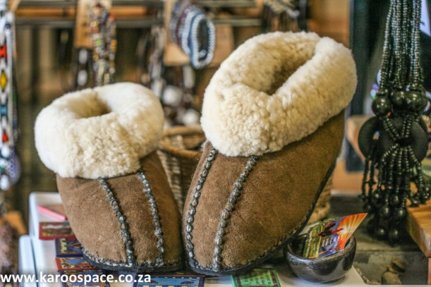 Daggaboer sheepskin slippers
