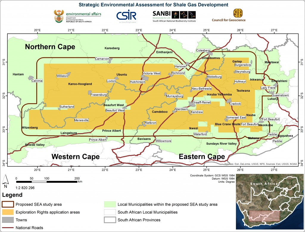 Strategic Environmental Assessment, Karoo Shale Gas Fracking