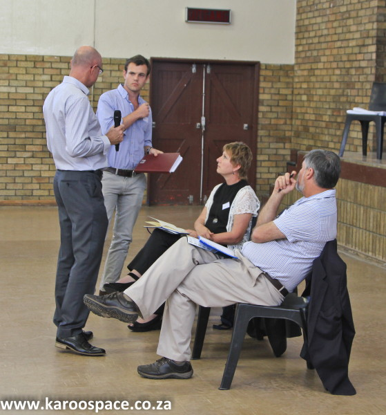 SEA Shale Gas Development Meeting, Graaff-Reinet