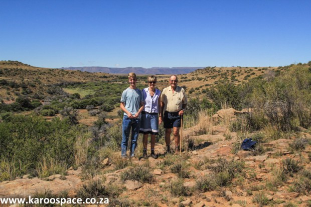Lord family, Alicedale farm, Karoo
