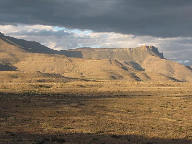 Karoo paleontological landscape