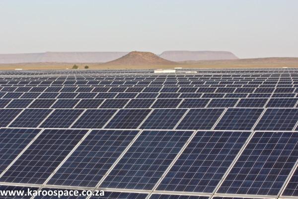 Solar energy Karoo