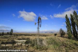 Windpump, Tweefontein farm, Nieu Bethesda