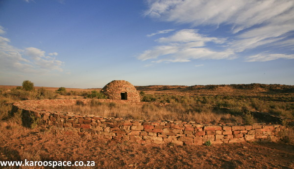 Corbelled building, near Carnarvon, Karoo