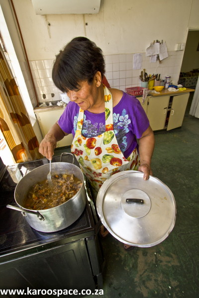 Vukusebenze Shelter in Cradock feeds dozens every day.