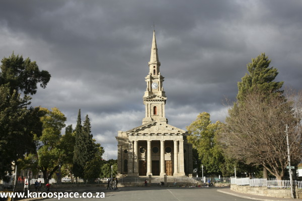 Cradock's mother church. The town has great history and beauty, but infrastructure is deteriorating.