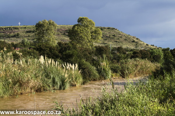 Cradock straddles the Great Fish River, but thanks to mismanagement, there is often no water in the taps.