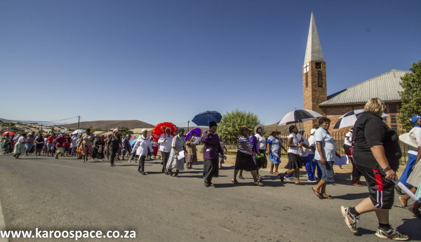 Cradock's townships have a history of standing up to injustices.