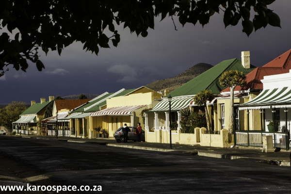 Cradock's iconic Tuishuise and Victoria Manor Hotel on Market Street.
