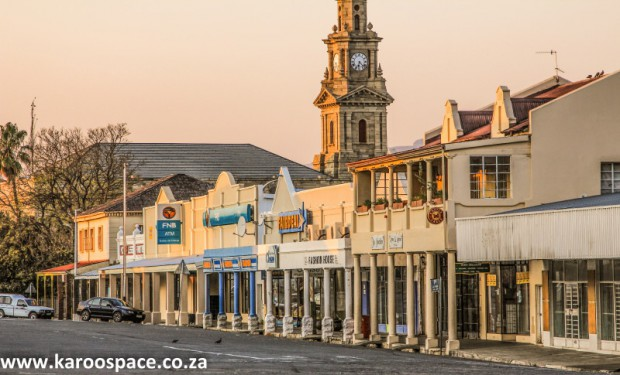 Cradock's central shopping district - Adderley Street.