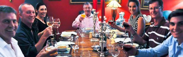 Springfontein House dinner