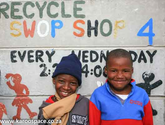 Recycle Swop Shop - a great project idea for any town.