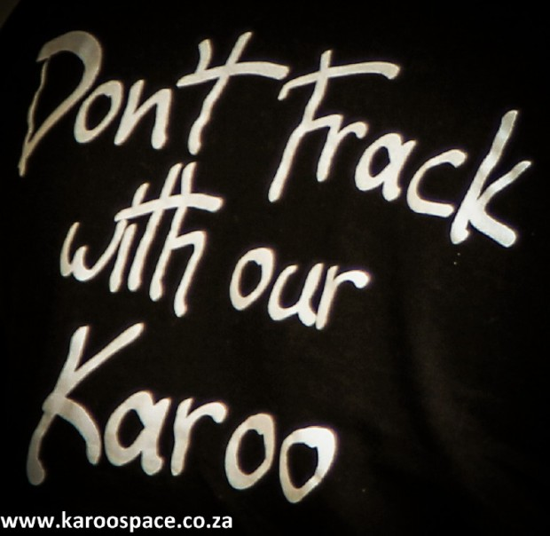 Don't Frack with Our Karoo.