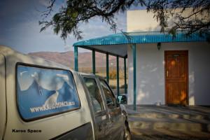 Outside Matjiesfontein, Western Cape.