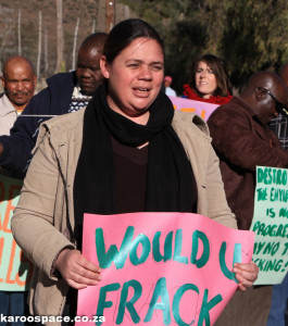 Karoo, fracking