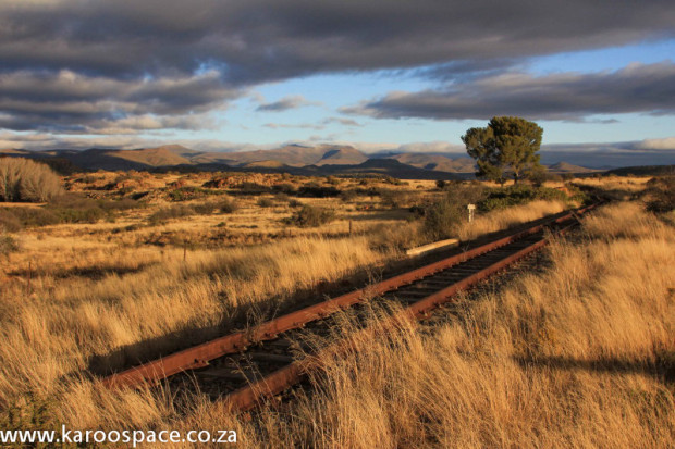 The railway through Kendrew hasn't seen a train for decades now.