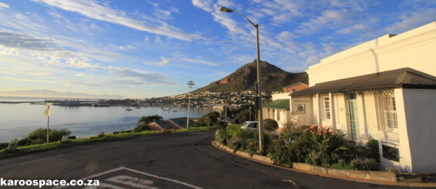 You are here: False Bay, Simon's Town, Cape Town.