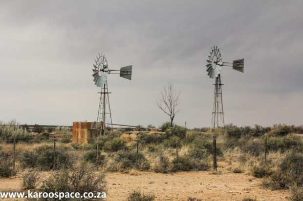 Windpumps made stock farming possible in the drylands of the Karoo and Kalahari.