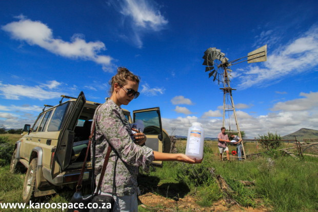 Jeanie le Roux of Treasure Karoo Action Group