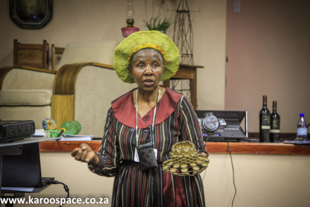 Vuyelwa Kona of Philippolis shared ways of making community-based recycling a success.