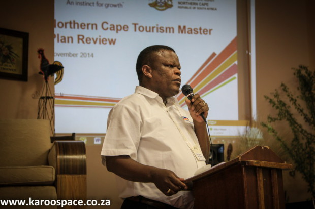 Sipho Mampe spoke about the Northern Cape's Tourism plans.