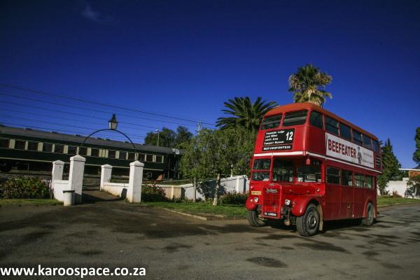 London Bus, Matjiesfontein, Karoo