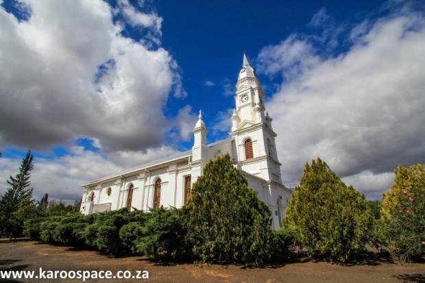 church, Pearston, Karoo